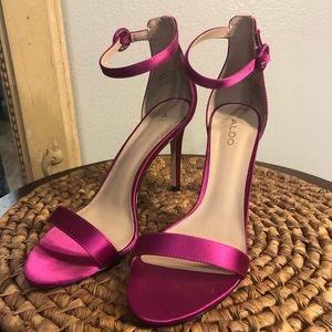 Sexy Fuchsia, Aldo Ankle Strap Heels!! Super HOT!!